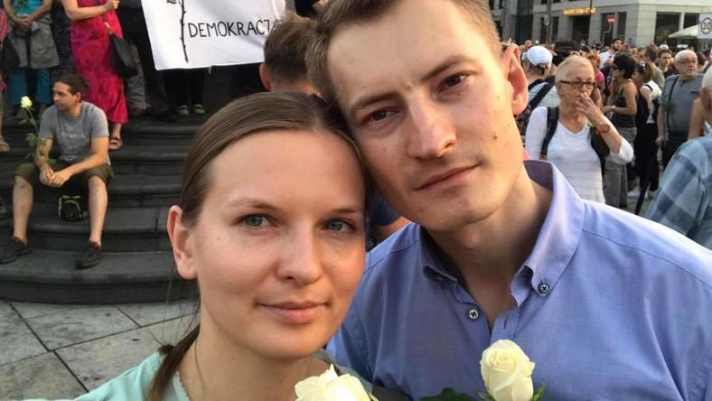 Людмила Козловська та Бартош Крамек / Фото з соцмереж