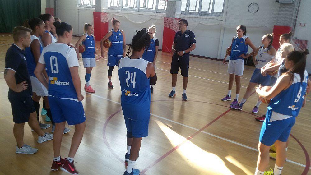 Українські баскетболістки готуються до турніру в Латвії / fbu.ua