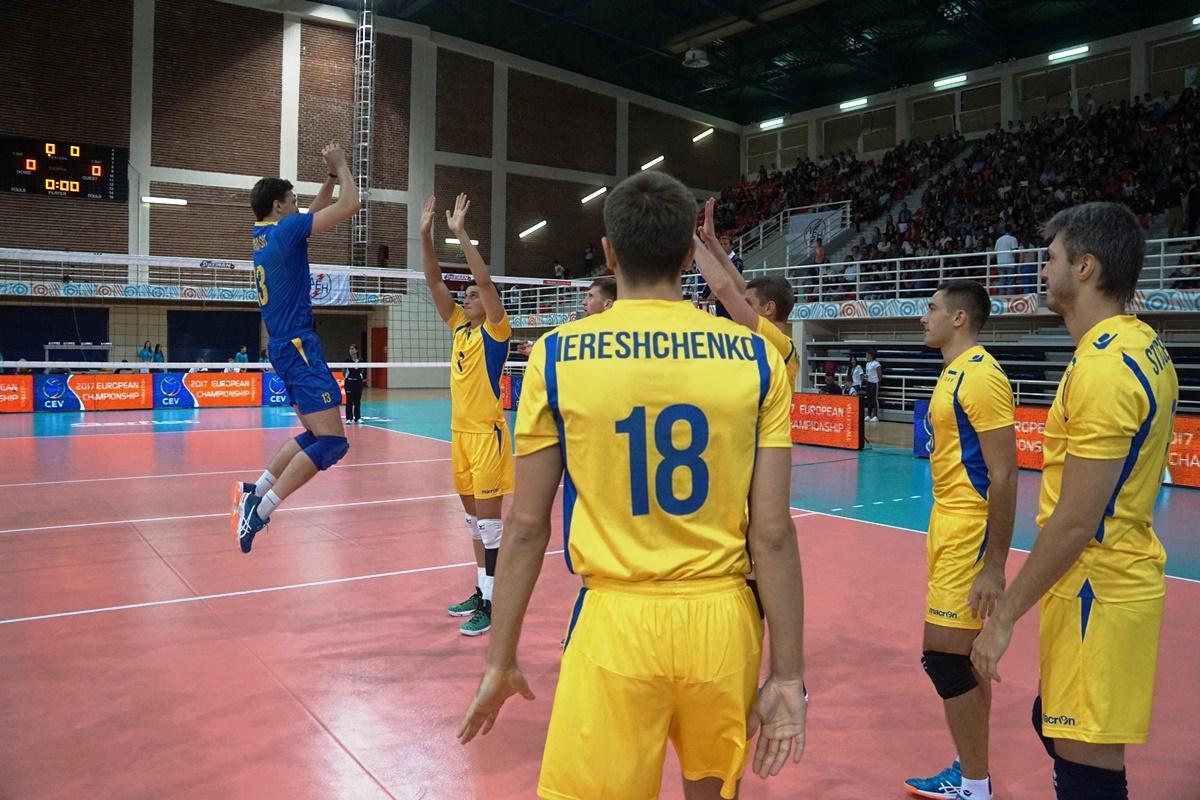 Мужская сборная Украины по волейболу обыграла Швейцарию / cev.lu
