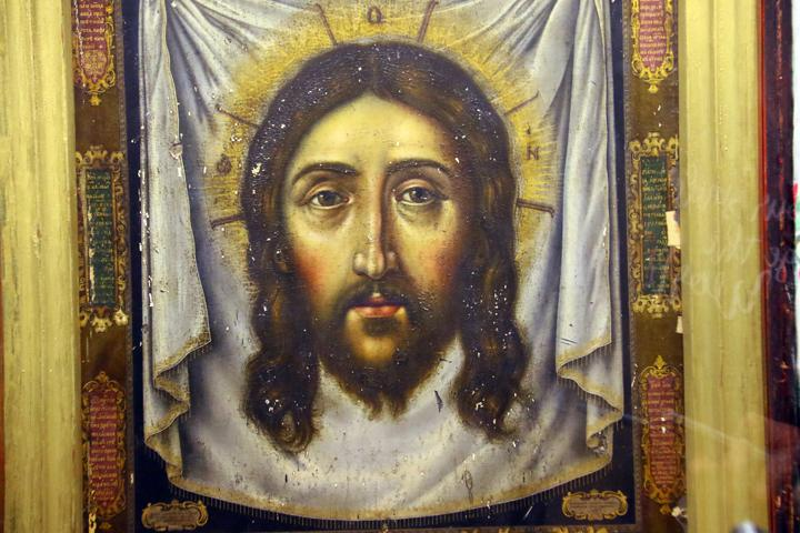 В Мелитополе показали уникальную икону Спаса Нерукотворного / mv.org.ua