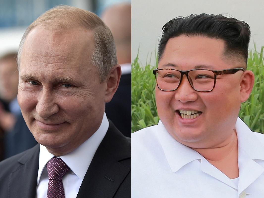 Владимир Путин и Ким Чен Ын / REUTERS