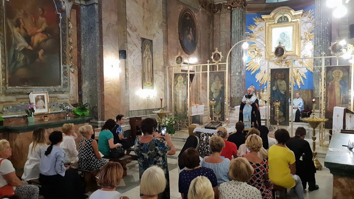 Празднование 300-летнего юбилея иконыпродлится в течение года / ukr-parafia-roma.it