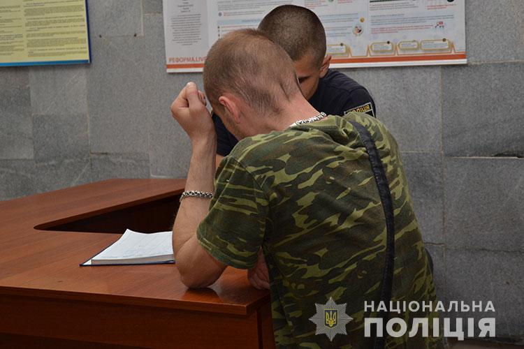 У Тернополі затримали 32-річного чоловіка, який поранив поліцейську з пневматичної рушниці