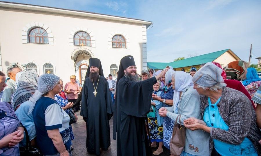 На Чернігівщині відзначили повернення Борзнянської  ікони Богородиці