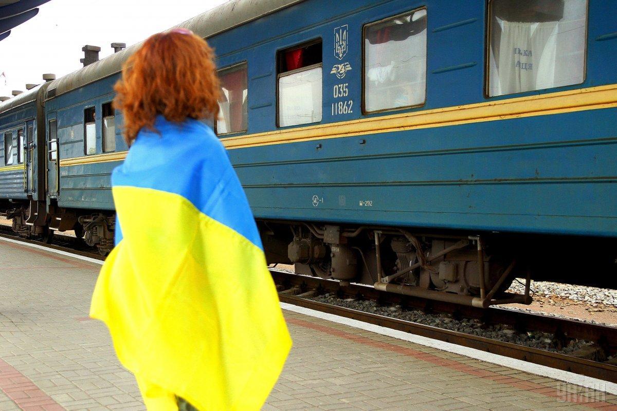 Скасування потягів до Росії поліпшить ситуацію із внутрішніми перевезеннями / фото УНІАН