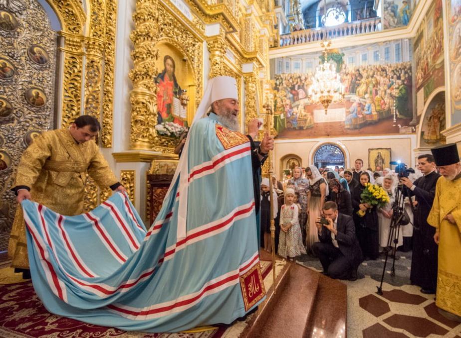 Божественну літургію очолив Митрополит Онуфрій / news.church.ua