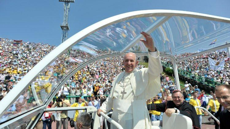 22 вересня Папа Римський Франциск прилетить уЛитву / vaticannews.va