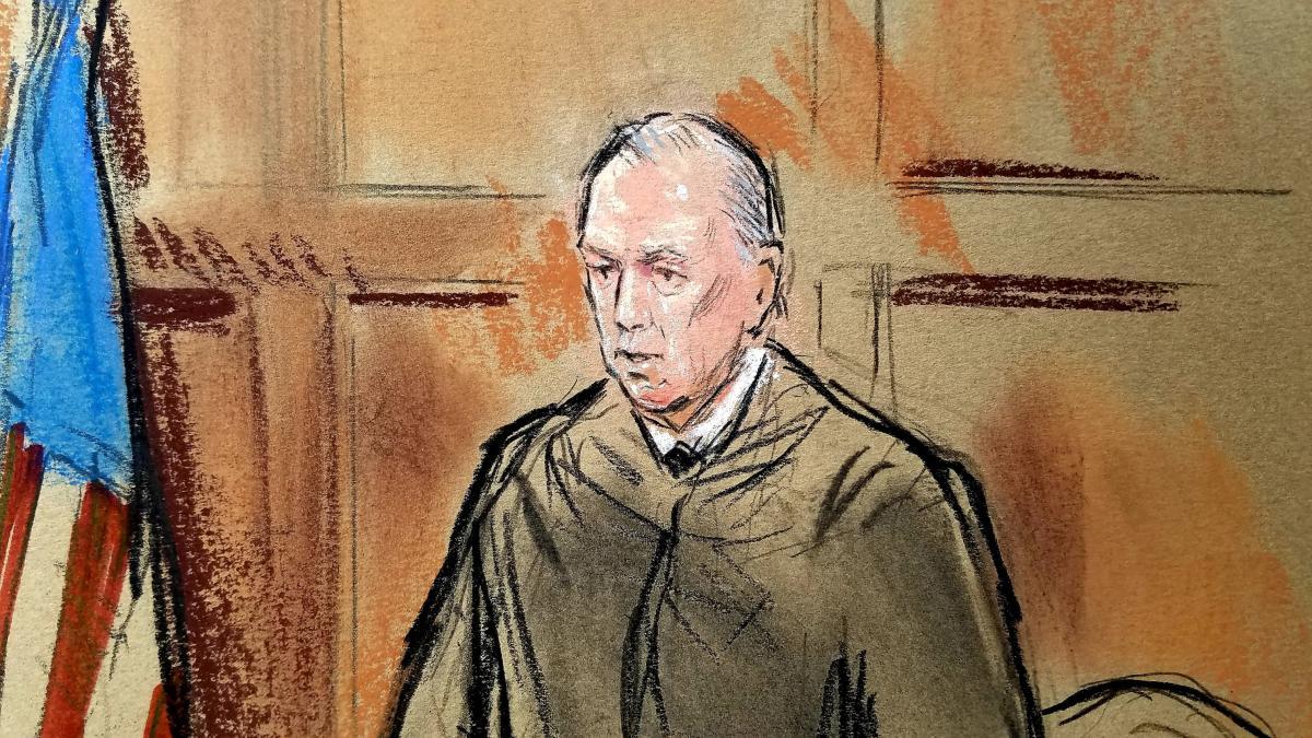 Суддя у справі Манафорта Томас Елліс / REUTERS