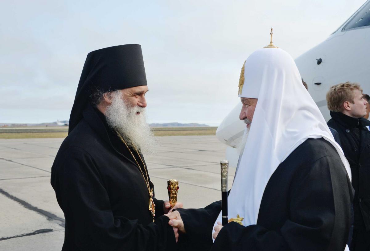 Патриарх Кирилл впервые прибыл на архипелаг Новая Земля / foto.patriarchia.ru