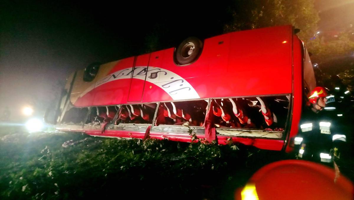 Внаслідок ДТП з пасажирським автобусом у Польщі загинули українці / фото Pogotowie Ratunkowe w Przemyslu
