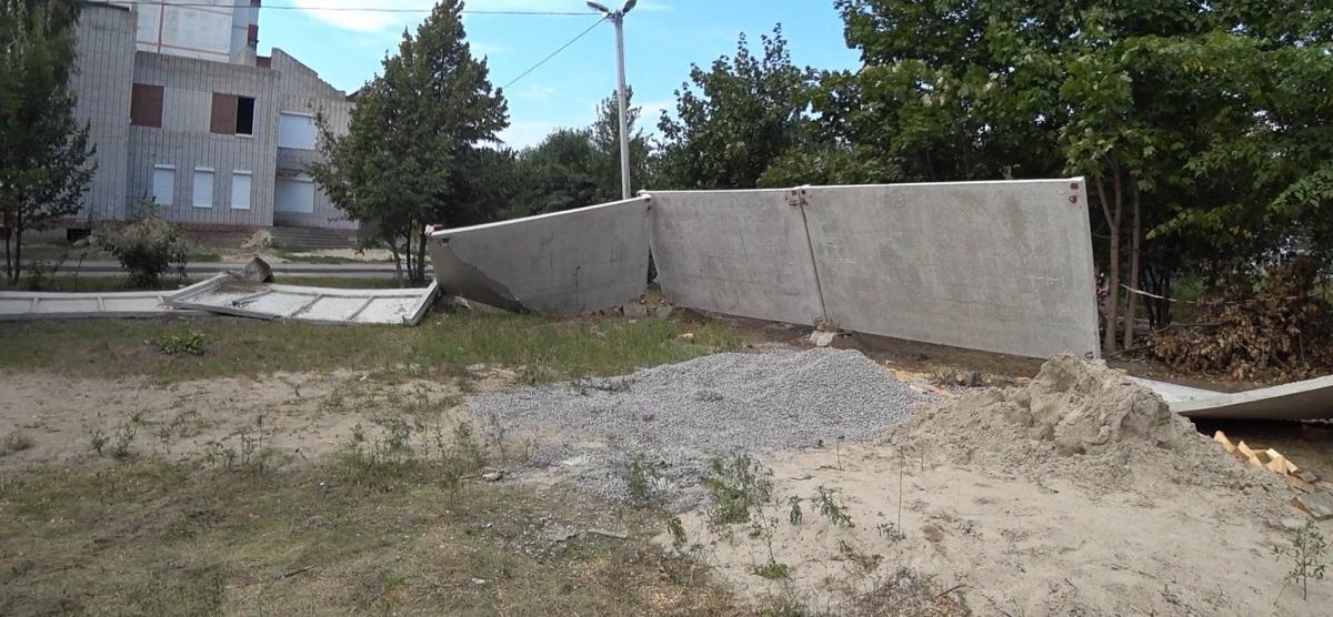 В Белой Церкви разгромили место для строительства храма УГКЦ / ugcc.kiev.ua
