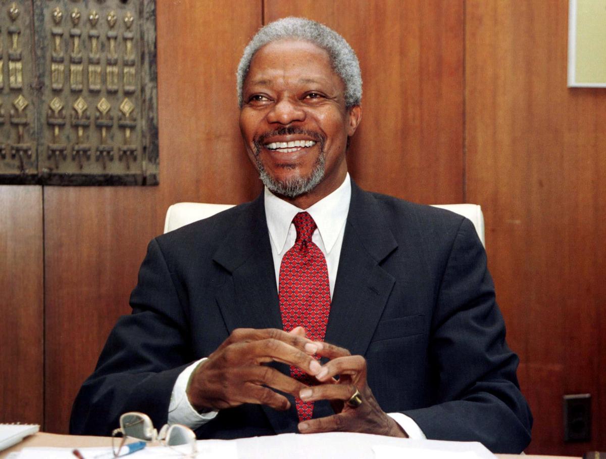Экс-генсек ООН Кофи Аннан / REUTERS