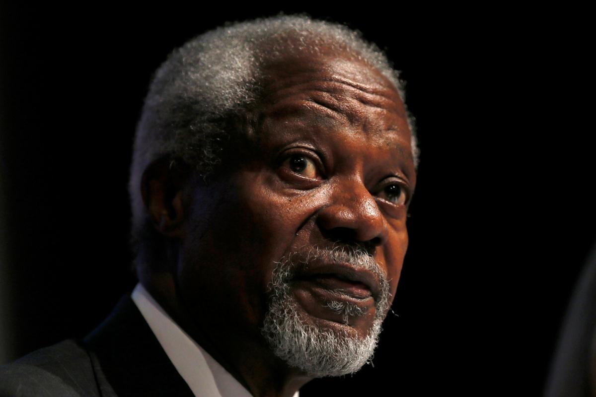 Кофи Аннан / REUTERS