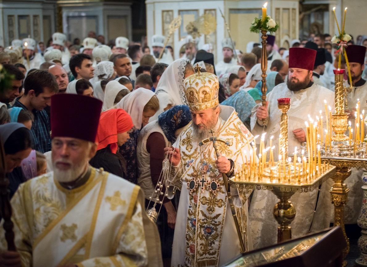 Накануне праздника Преображения Предстоятель УПЦ возглавил всенощное бдение / news.church.ua