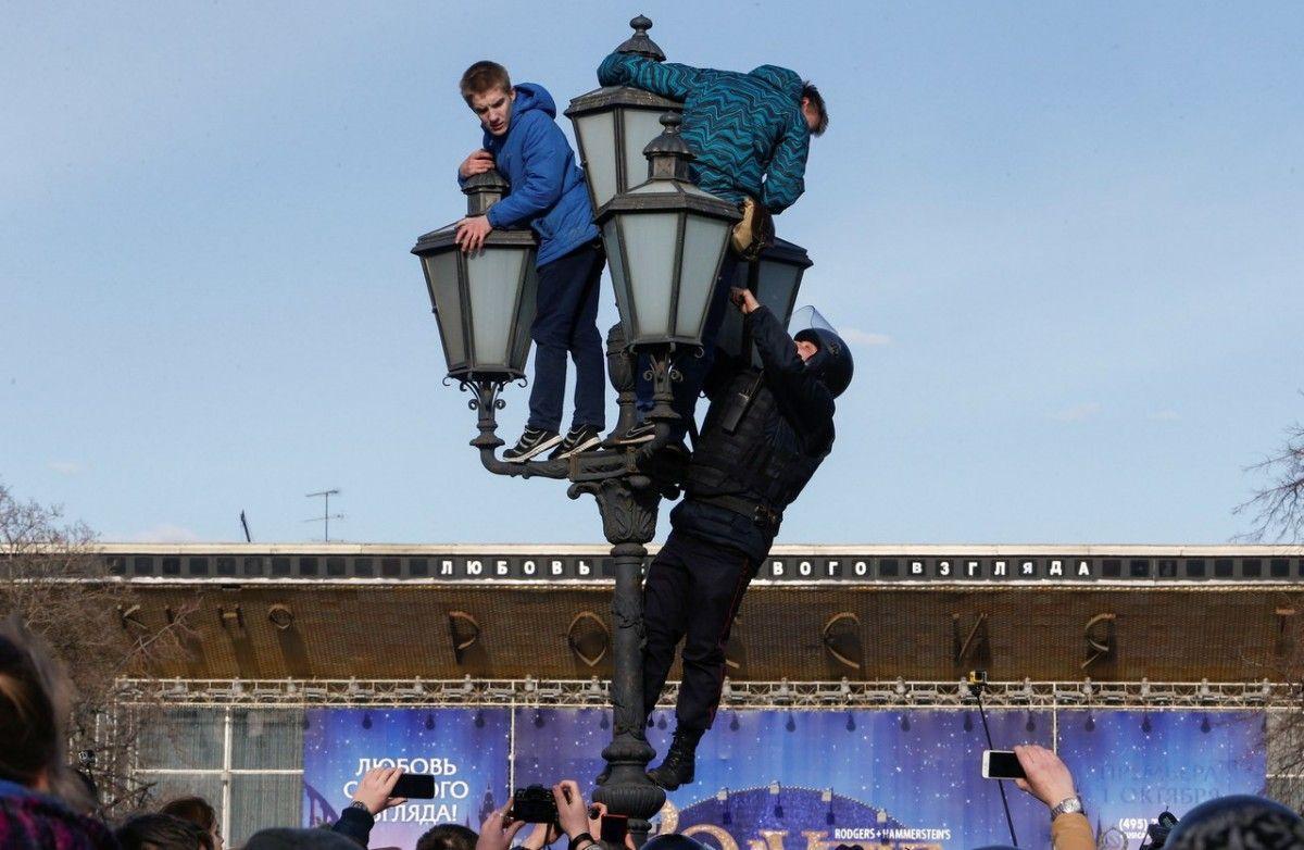 Акція протесту 26 березня 2017 року в Москві / REUTERS