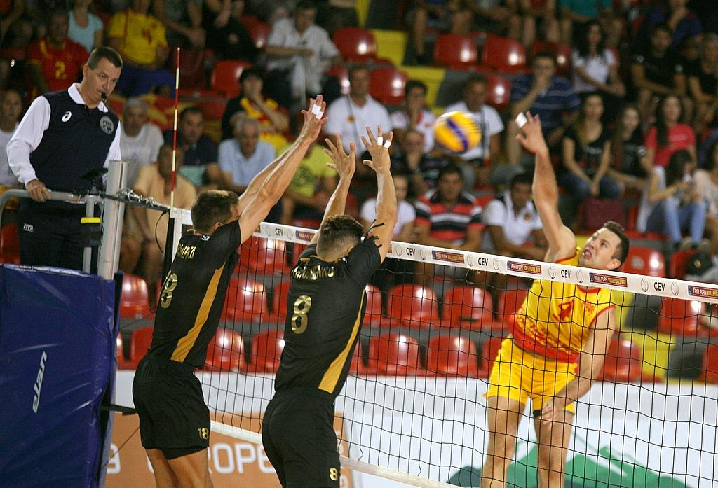Збірна України з волейболу виграла другий матч поспіль відбору Євро / cev.eu