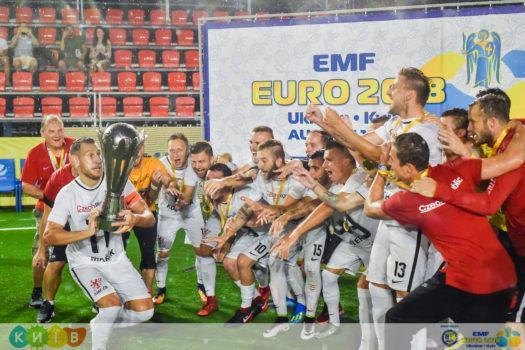 Сборная Чехии выиграла чемпионат Европы в Киеве / официальный сайт турнира