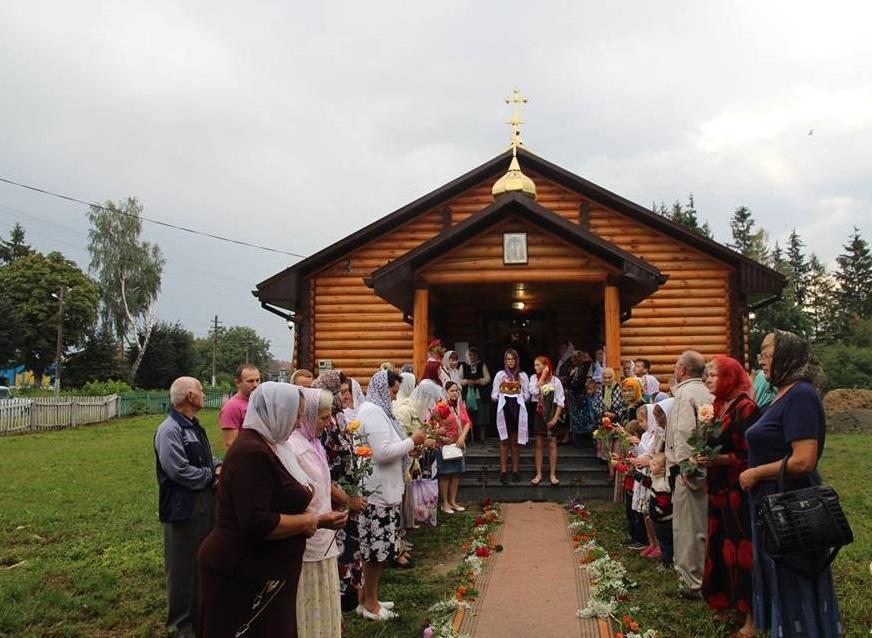 У селі Велика П'ятигорка освятили новий храм / zhytomyr-eparchy.org