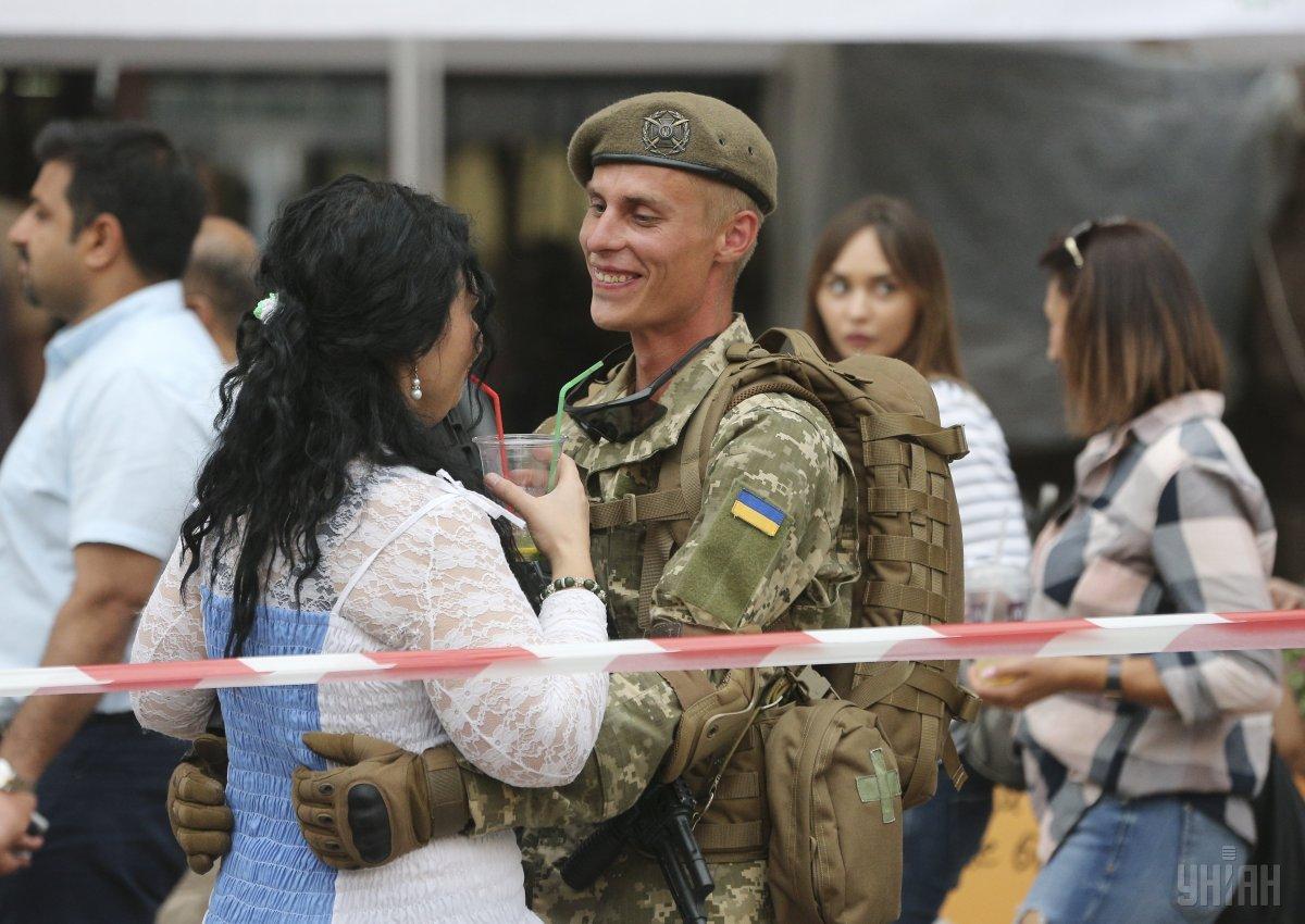 История праздника День защитника Украины / фото УНИАН