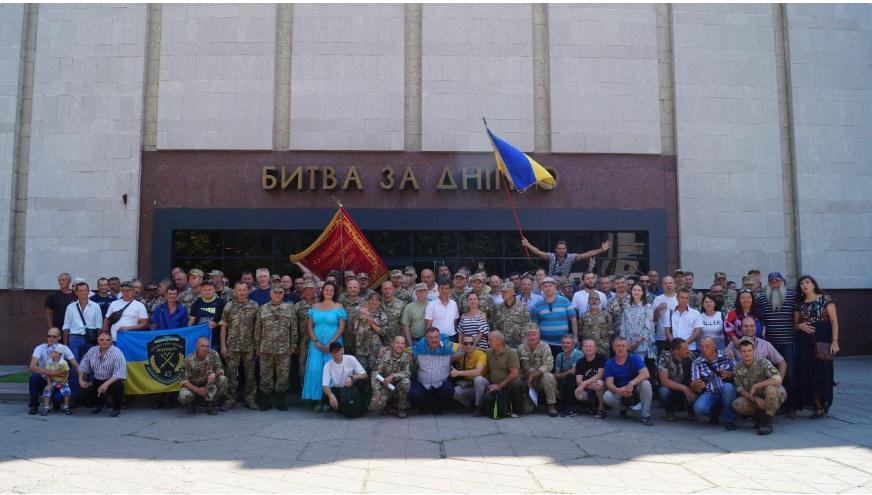"""В Днепре презентовали киноленту """"Патриот"""" / фото dniprograd.org"""