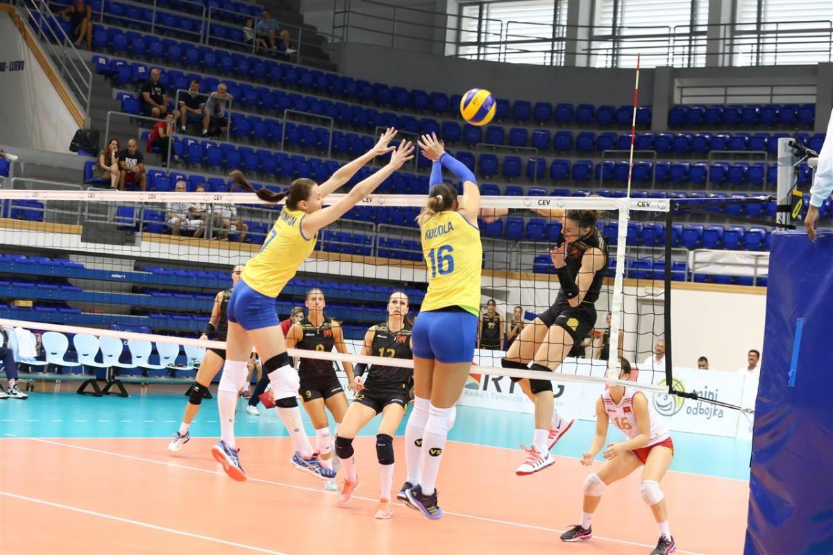 Женская сборная Украины по волейболу проиграла дома Греции/ cev.lu