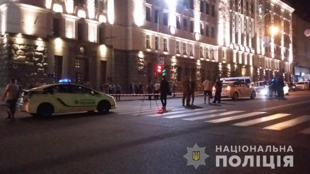 Злоумышленник стрелял из пистолета Макарова / фото hk.npu.gov.ua