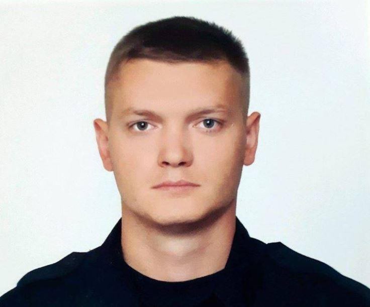 Харьковский патрульный Дмитрий Кириенко был убит при выполнении служебного долга / Facebook, Національна поліція України