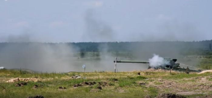 Завершені випробування 152-мм снарядів для артилерійської системи «Гіацинт»/ скріншот