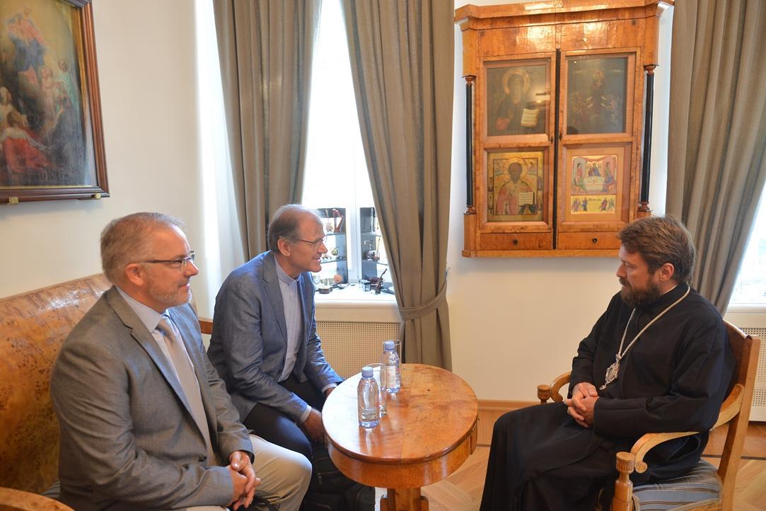 Состоялась встреча председателя ОВЦС с группой христианских деятелей из Швейцарии / patriarchia.ru