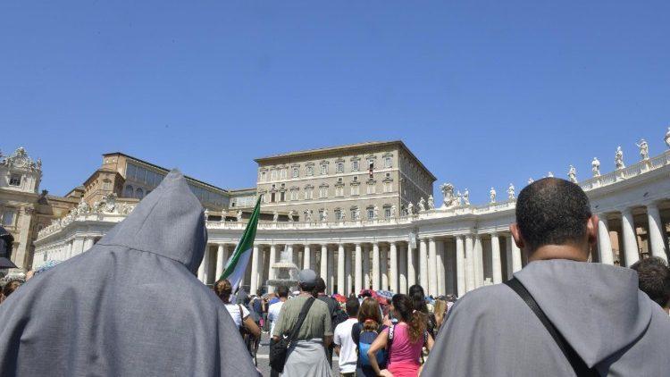 Папа закликав українську молодь бути миротворцями / vaticannews.va