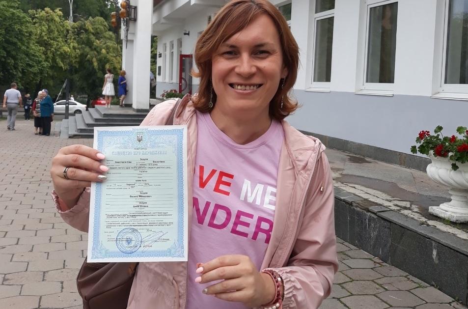Во Львове избили активистку ЛГБТ-движения Анастасию Домани / Facebook, Анастасия Кристель Домани