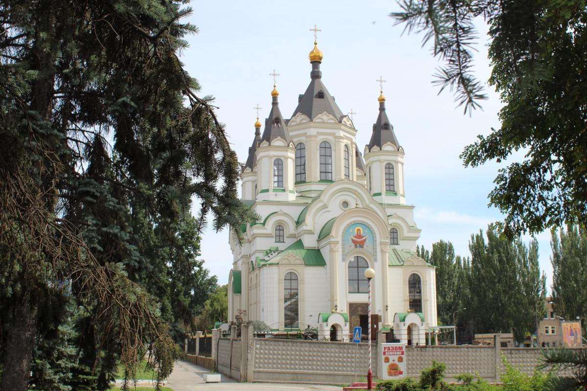 Свято-Покровский собор в Запорожье / mykarusel.com