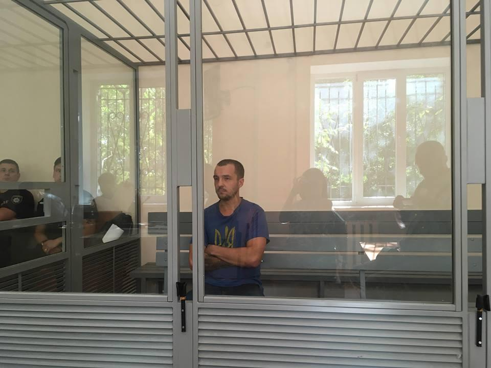 Виктор Горбунов - второй подозреваемый в нападении на Гандзюк / фото facebook.com/tsvibak