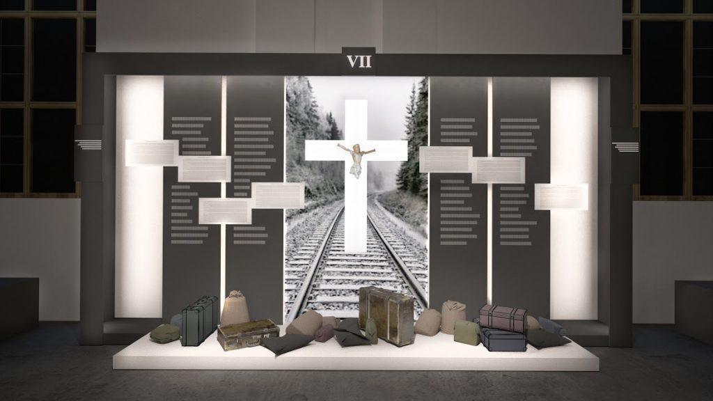 Мемориал мучеников за веру будет находиться на территории нынешнегоприхода святого архангела Михаила в городе Тыврове/ kmc.media