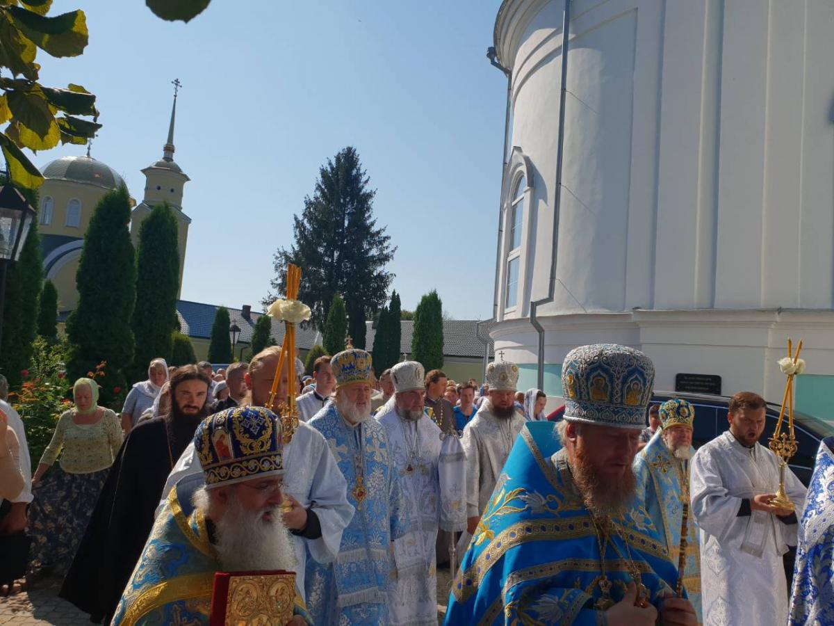 В Тригорском монастыре на Житомирщине отметили престольный праздник / orthodox.vinnica.ua