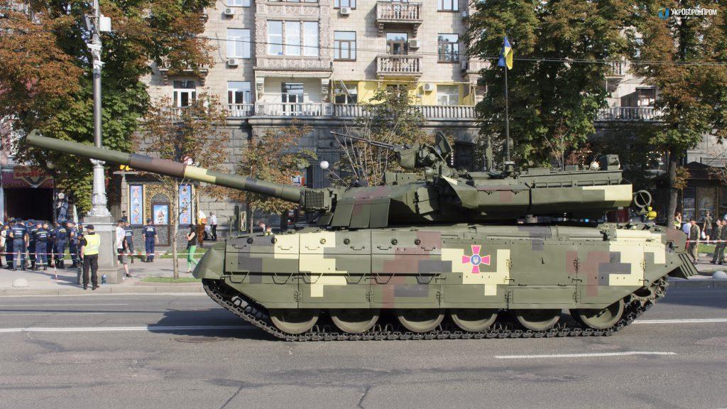 На параде ко Дню Независимости покажут танк «Ятаган» / фото ukroboronprom.com.ua