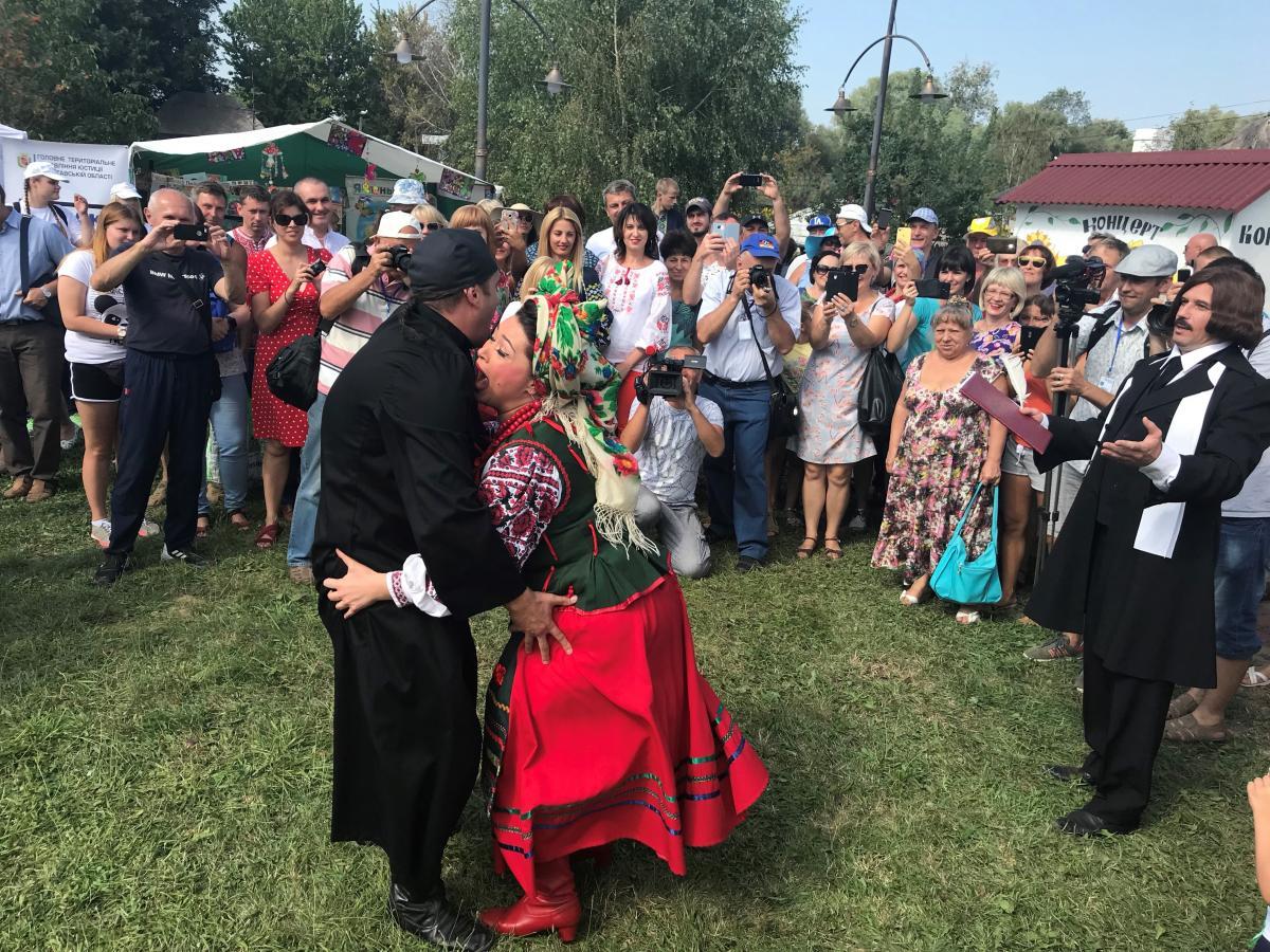 Сорочинская ярмарка проводилась с XIX века / Фото УНИАН