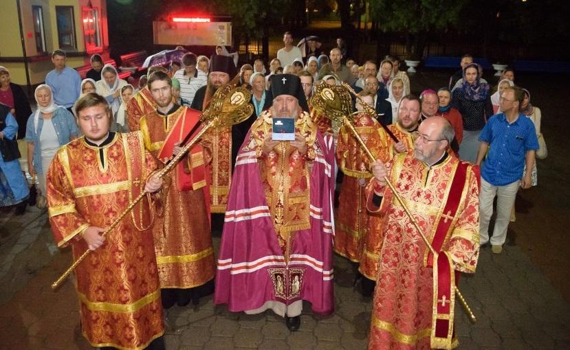 Мощи святой великомученицы Параскевы доставлены в Гомельский кафедральный собор / eparhiya.by