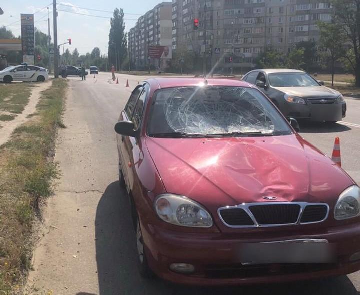 """В Сумах поліцейських збив на """"зебрі"""" двох пішоходів / фото прес-служба прокуратури Сумської області"""