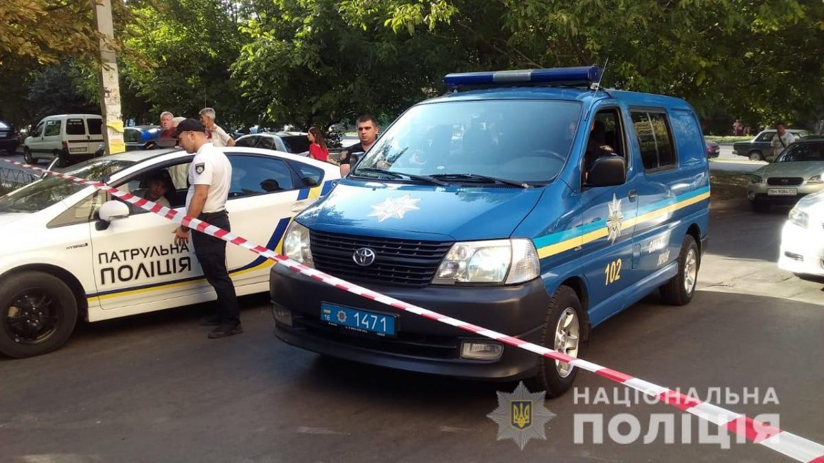 Поліція вирішує питання щодо відкриття кримінального провадження за фактом стрілянини в Одесі / фото od.npu.gov.ua