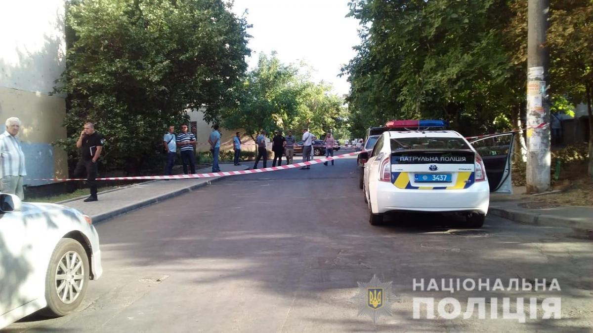 В Одесі невідомий підстрелив місцевого мешканця / фото od.npu.gov.ua