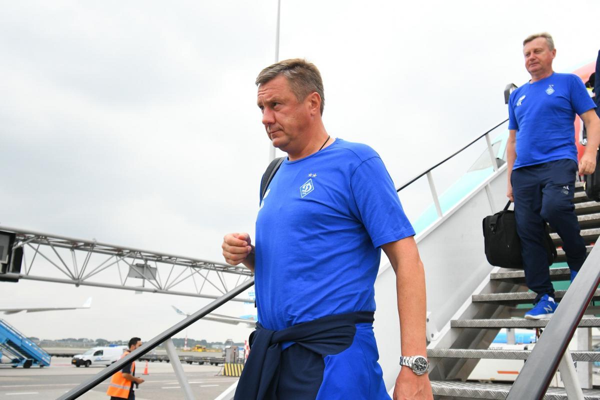 Олександр Хацкевич може покинути Динамо після закінчення сезону / фото: facebook.com/fcdynamoua