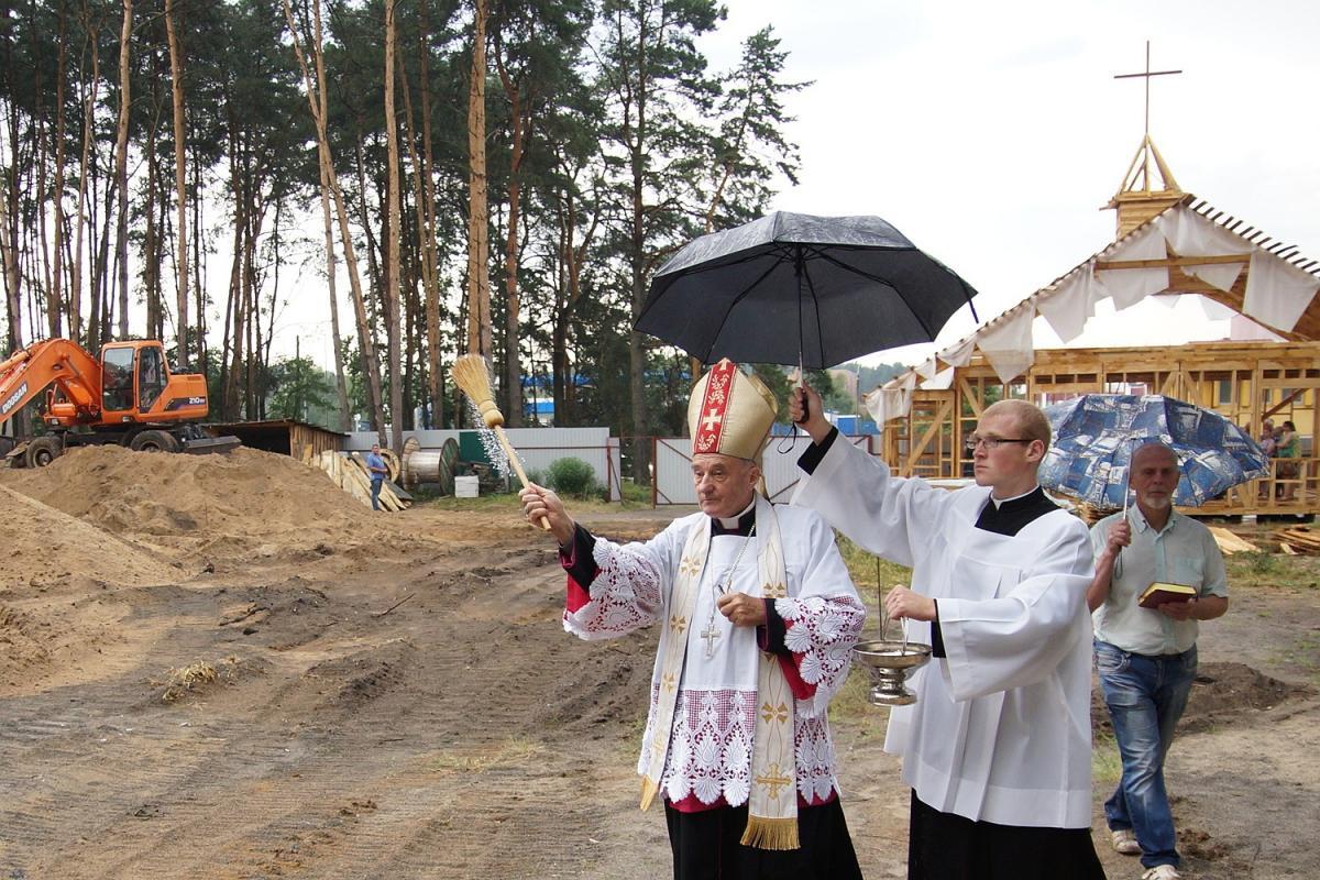В Гомеле вместовзорванного большевиками храма построят костел / katolik.life