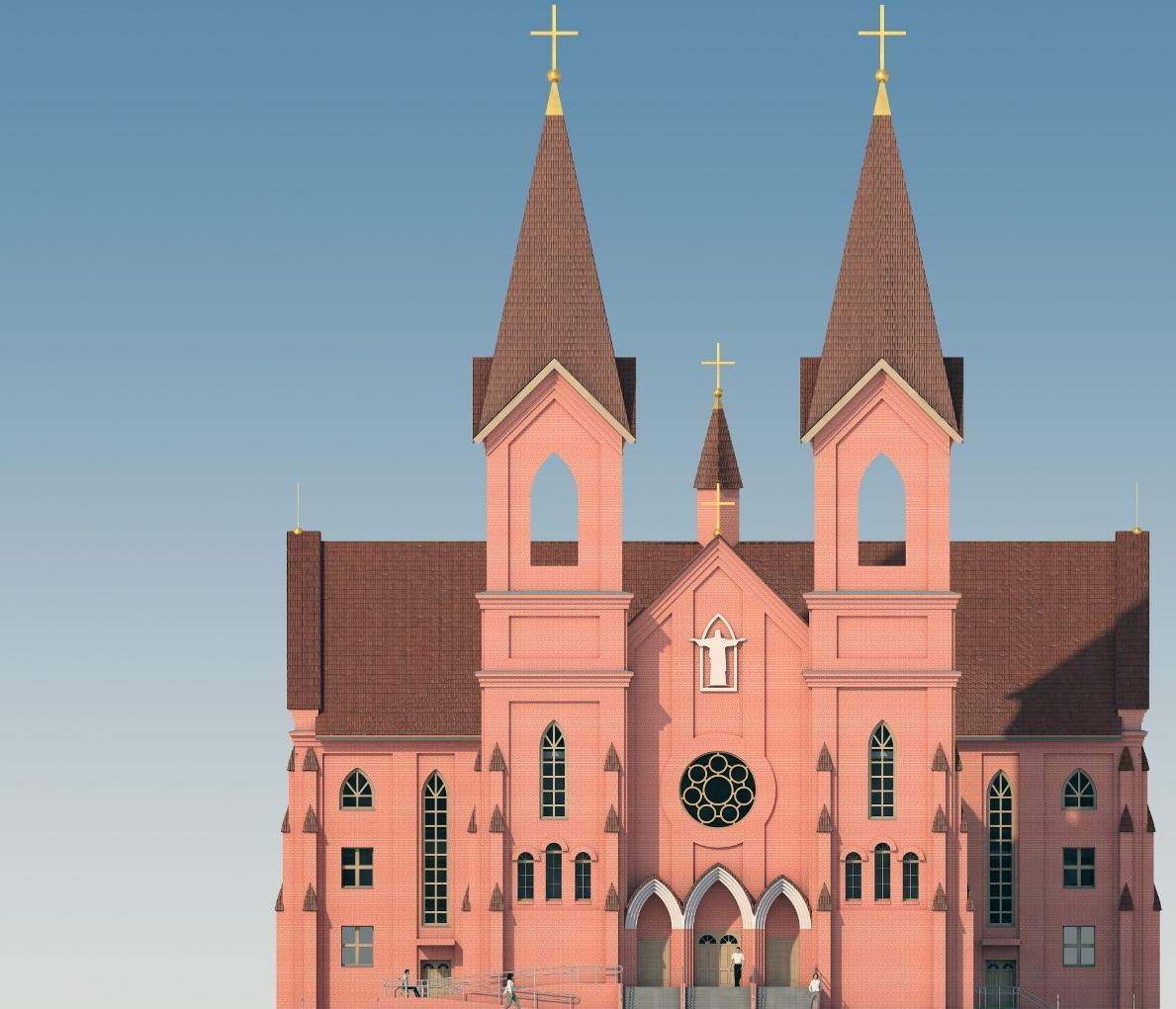 Костел спроектирован в псевдоготическом стиле / katolik.life