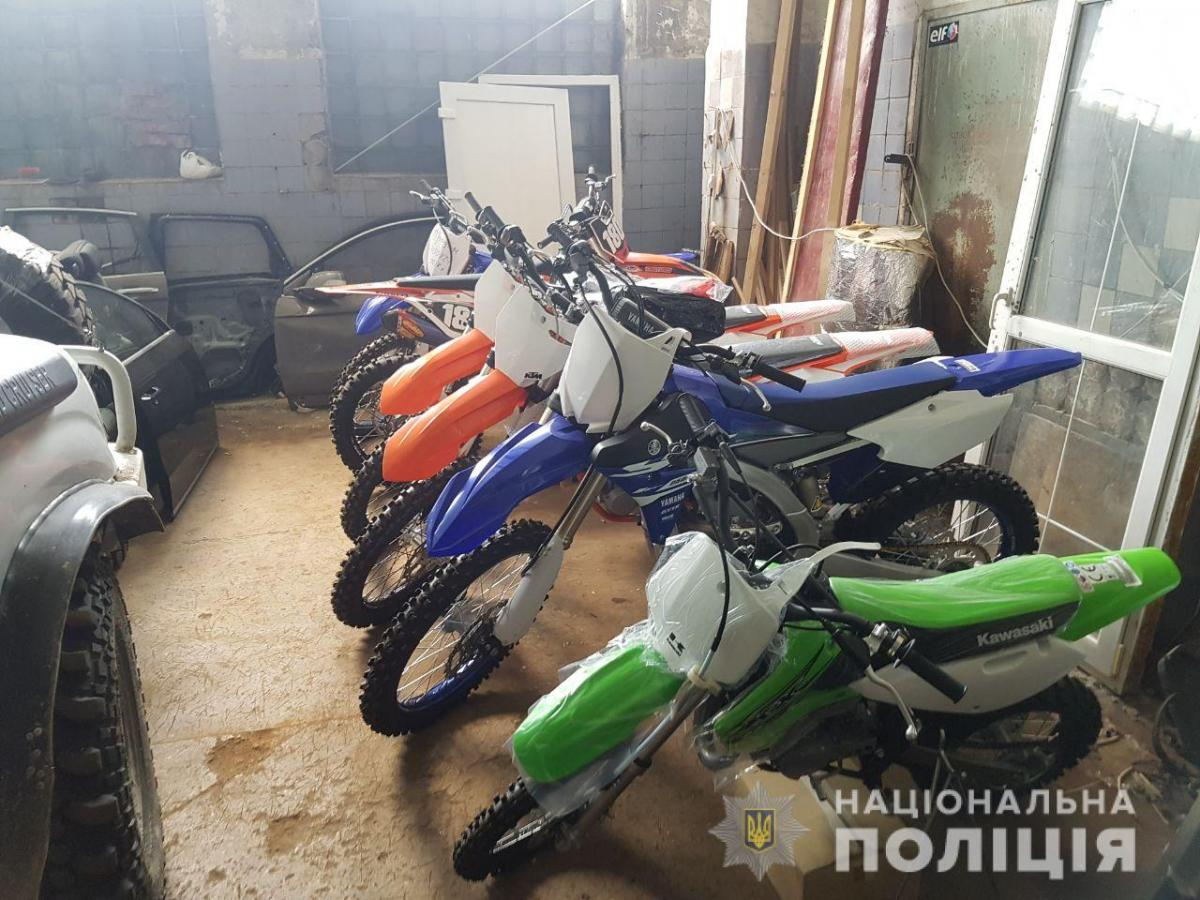 Реалізація мотоциклів відбувалася за допомогою спеціального веб-ресурсу / фото cyberpolice.gov.ua