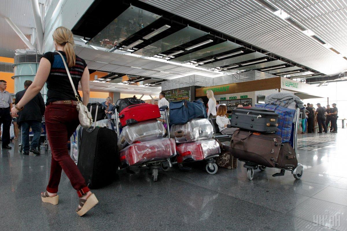 В «Борисполе» готовятся открыть новое багажное отделение /Фото УНИАН