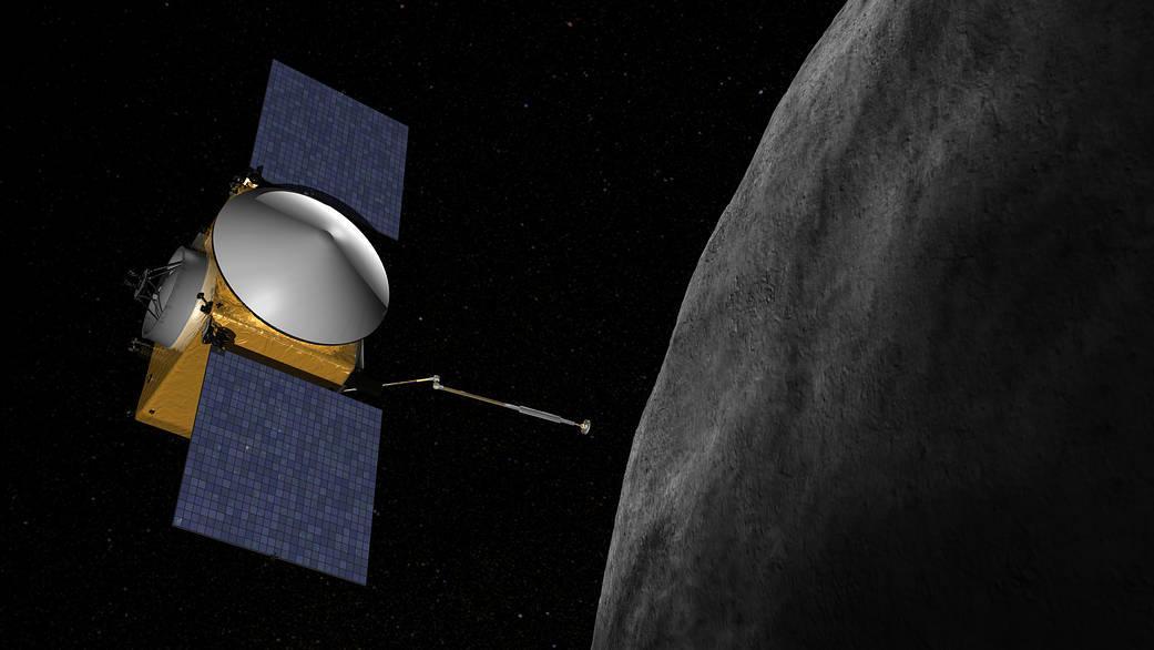 Завдання OSIRIS-REx - дослідження астероїда Бенну / зображення nasa.gov