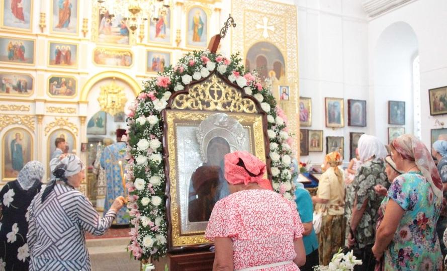 Православные молились перед Толгськой иконой Богородицы / orthodox.cn.ua