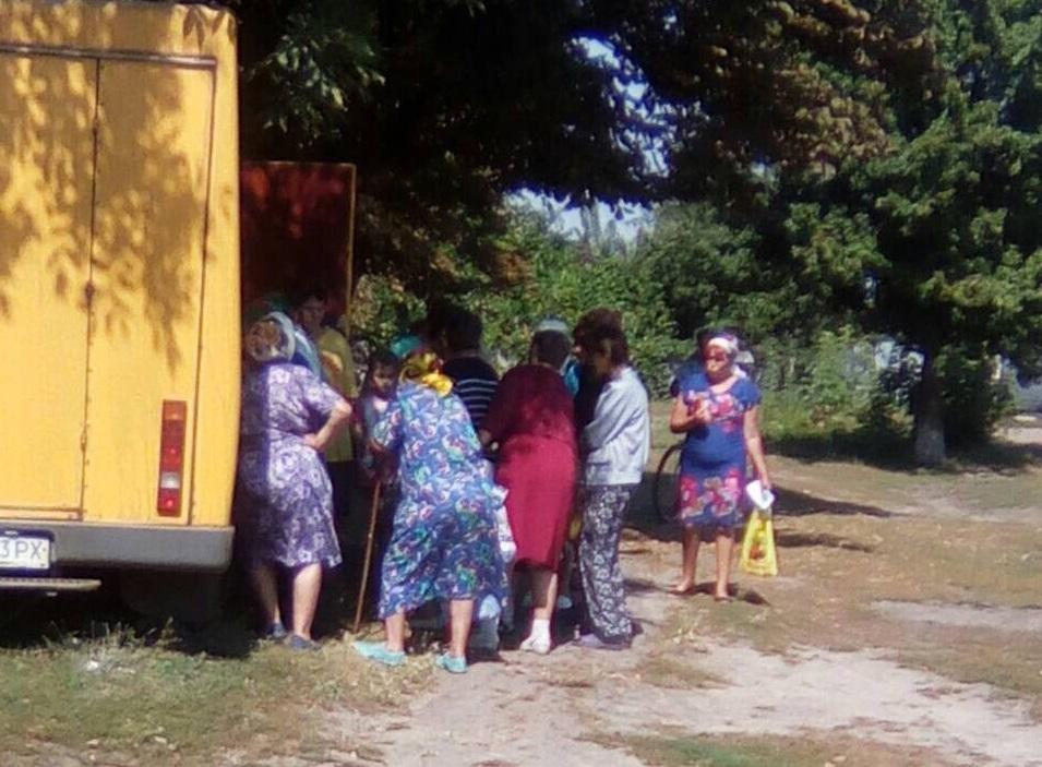 Пересувне відділення у Конятині / фото УНІАН