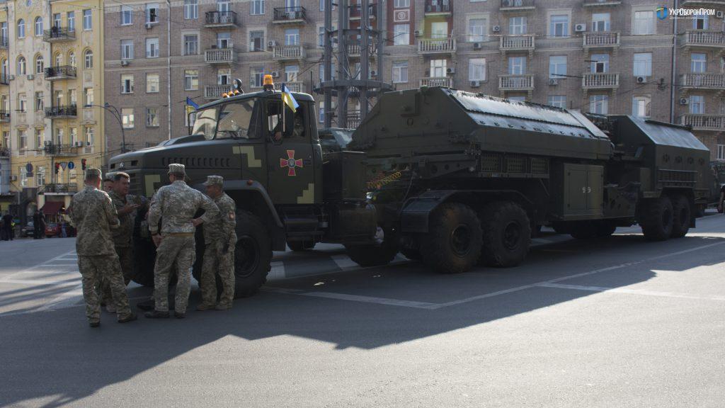 Контрбатарейный радар 1Л220УК / Фото Укроборонпром